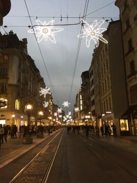 Geneva looking Christmasy