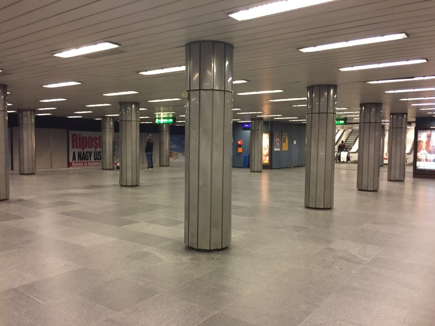 We enjoyed the many stylings of the metro stations