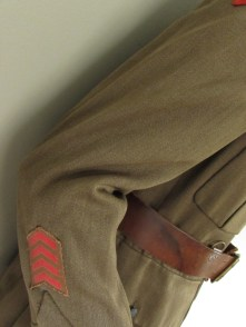 2nd NZEF SD jacket & trousers service stripes