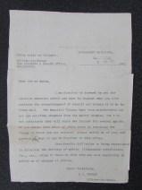 Memorial Scroll Letter