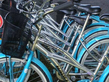 Christchurch Bike Tours' retro-bikes