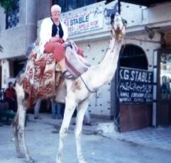 heather on camel