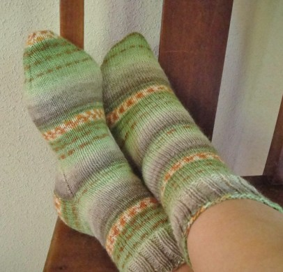 Plain vanilla socks