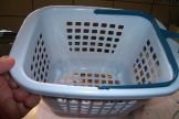 Small Laundry Pegs Basket