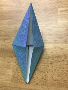 折り紙 折鶴 作り方2-27