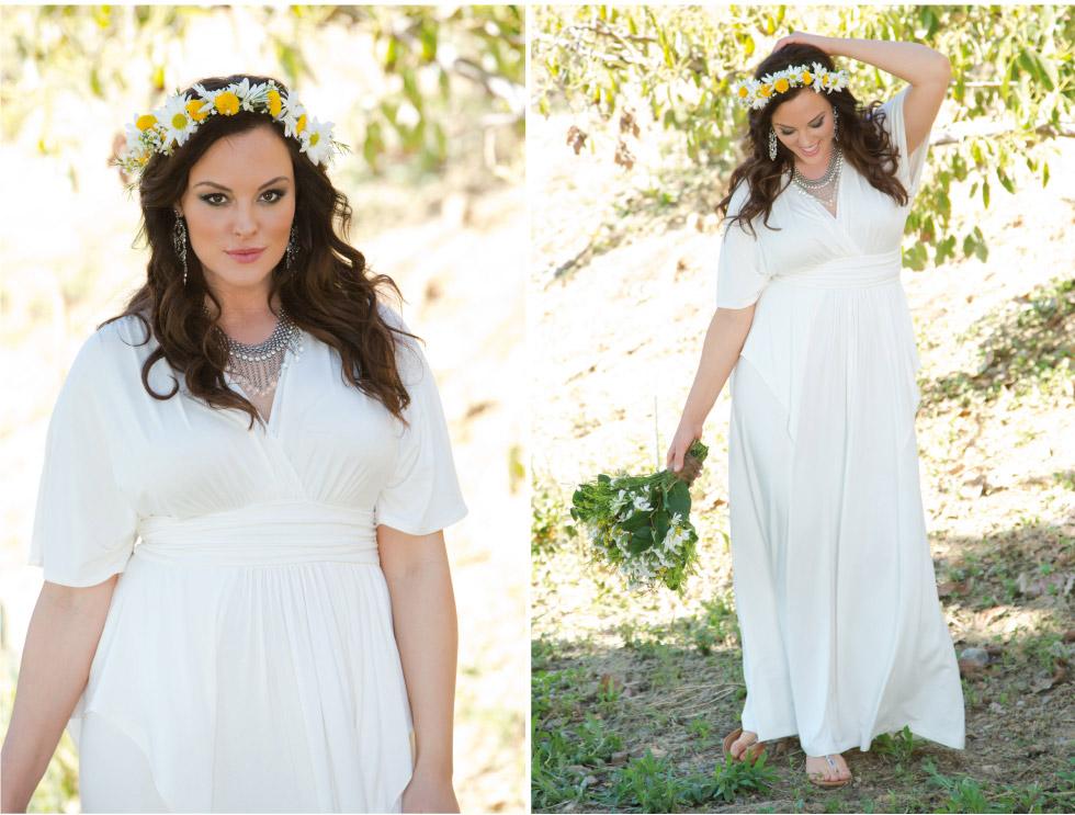 Kiyonna Clothing: Plus Size Bridal Style Boho