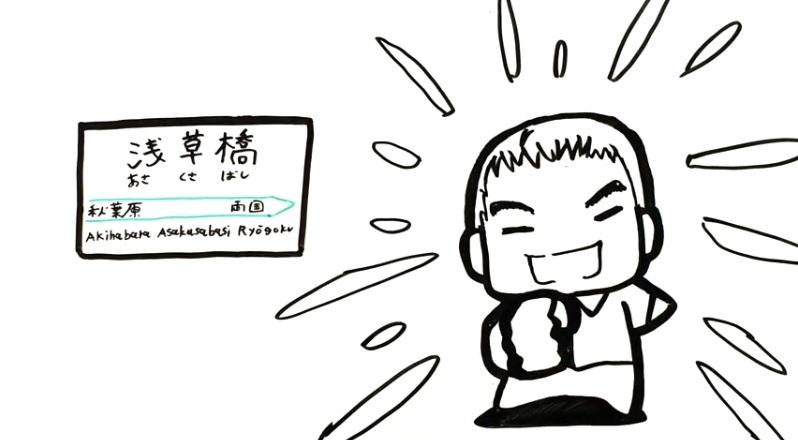 JR総武線「浅草橋」生まれの名物社長・渡辺千春が元気に登場!