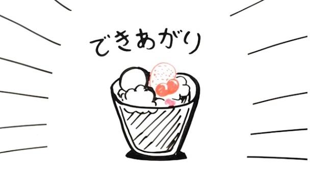 お好みで生クリームや果物をトッピング☆