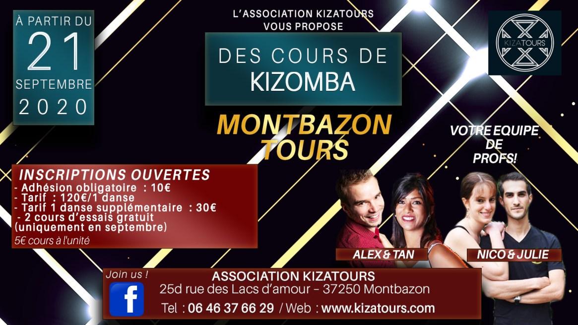 cover cours de Kizomba