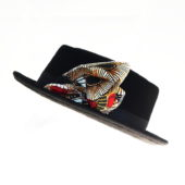 Smart Low brim Wool Felt African hat___1