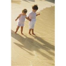 子供 影 海岸