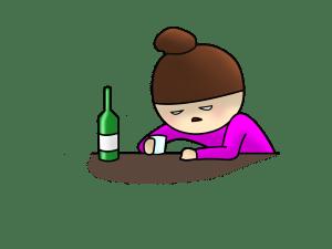 やけ酒 ストレス 愚痴
