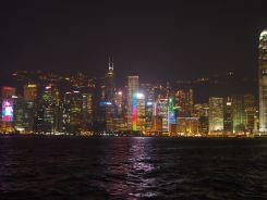 香港の夜景 九龍