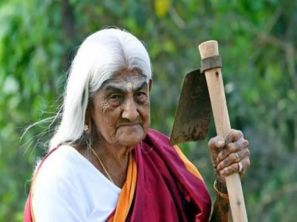 पप्पम्मल रंगमाला - तमिलनाडु की 105 वर्षीय महिला किसान (स्रोत: द हिंदू)