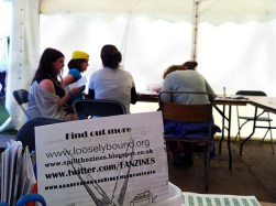 What is a zine? One of the most popular questions from the weekend.