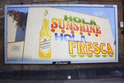 Alan Kitching - San Miguel Hola Sunshine 48 Sheet - N22 (Nice one Scribblez)