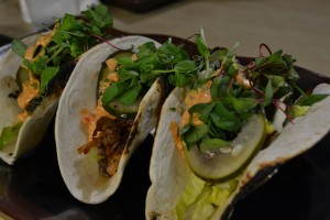 Pork Belly Tacos Photo Credit: Julie Thephachan