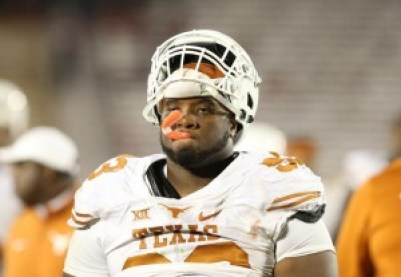 Defensive tackle Paul Boyette Jr after Texas' 24-0 loss to Iowa State (Reese Strickland - USA TODAY Sports)