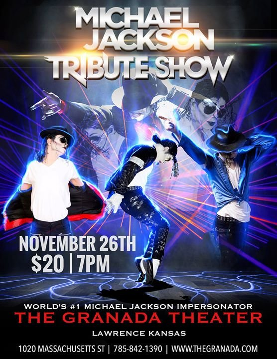 michael jackson tribute show at the granada kjhk 90 7 fm
