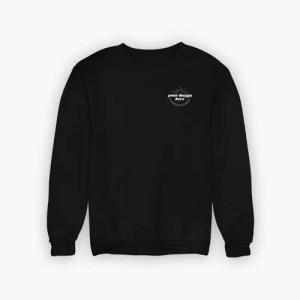 Sweatshirt Black Pocket