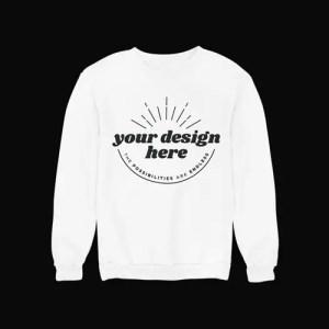 Sweatshirt White Frontal
