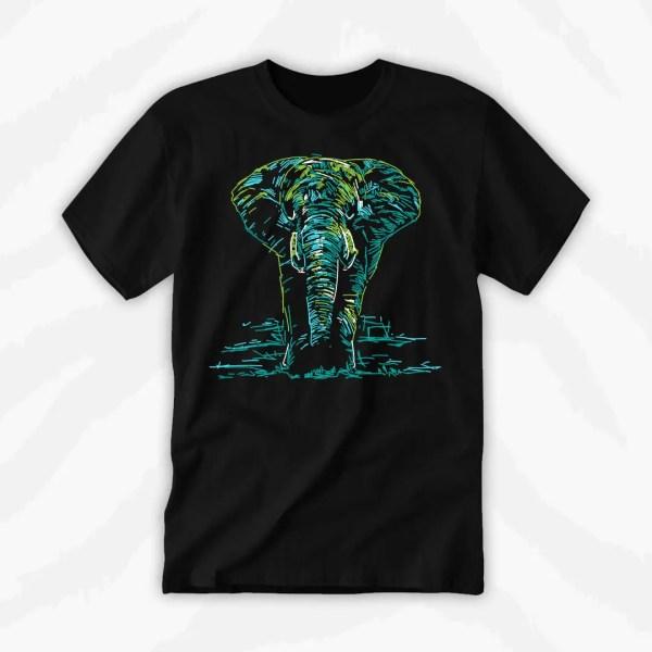 Graphic Tee Elephant Vibes