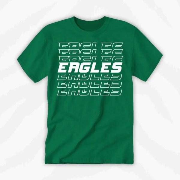 Eagles Football Team Shirt 1