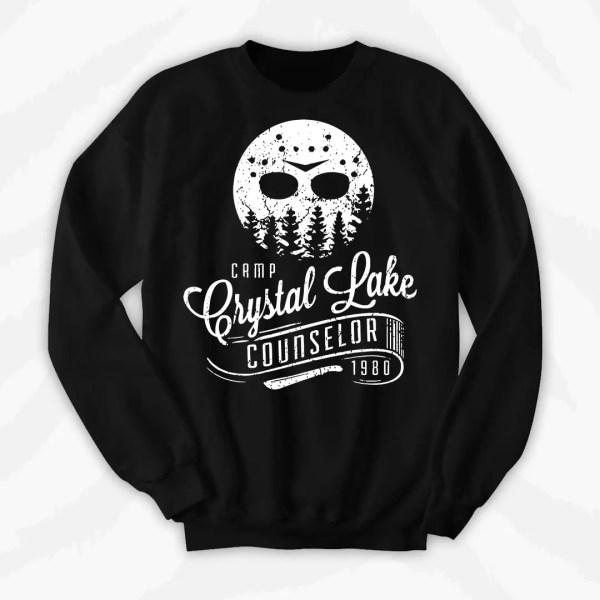 Camp Crystal Lake Crewneck Sweatshirt