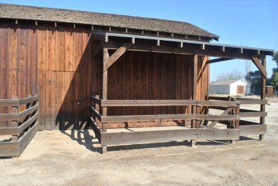 A Barn at Colonel Allensworth State Park