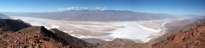 Death Valley from Dante's Peak