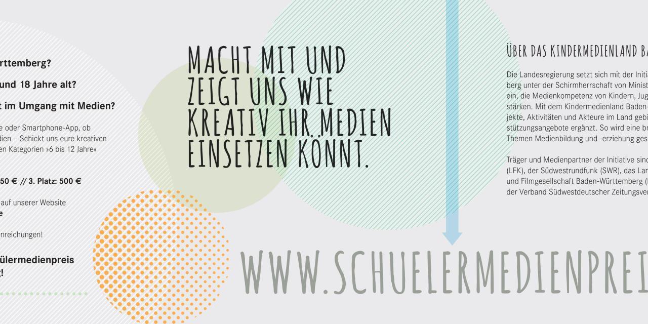 Schülermedienpreis Baden-Württemberg 2019