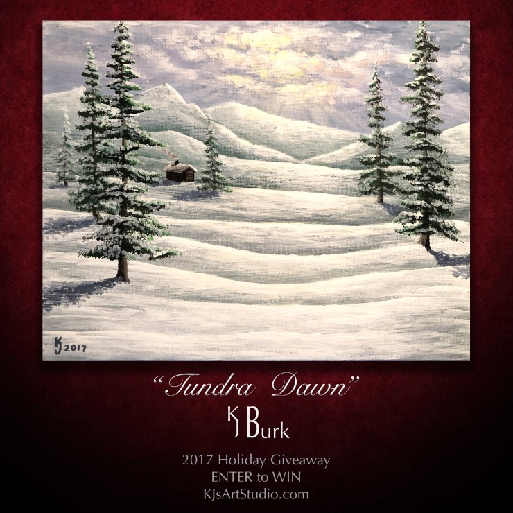 KJsArtStudio.com | 2017 FREE Holiday Painting Giveaway