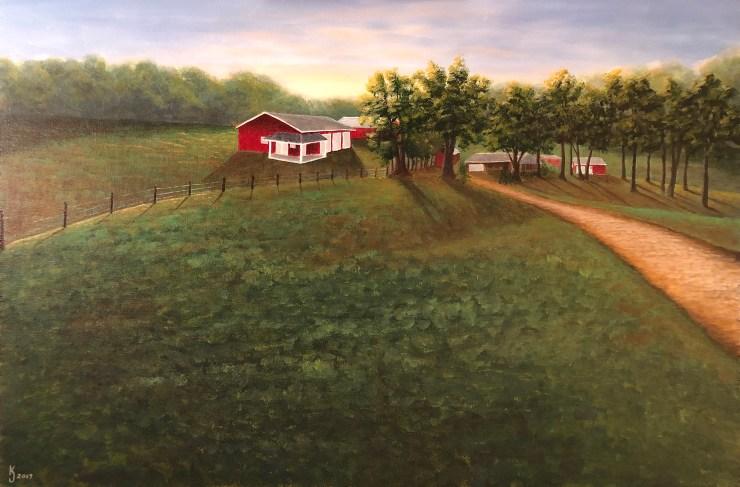 KJsArtStudio.com | Allen Family Farm in Mansfield Missouri by KJ Burk