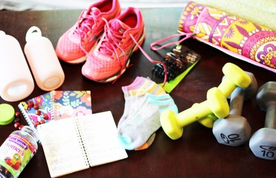 All of my fitness materials!