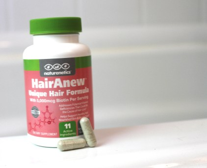 The hair vitamin I use