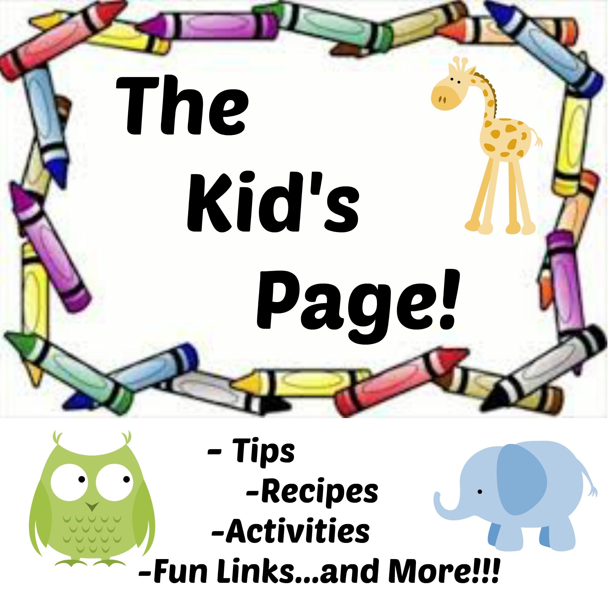 Kids Pages Com