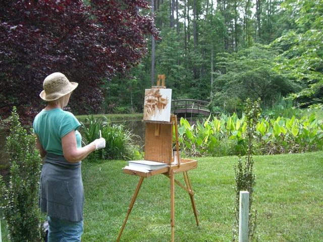 """Painting """"en plein air"""""""