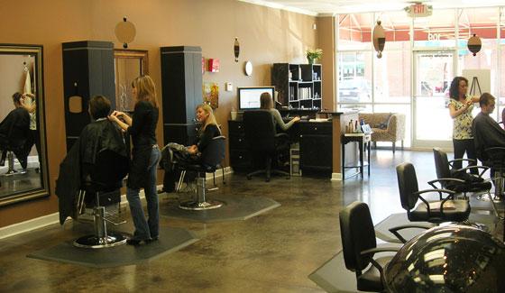 Lather, a Raleigh hair salon