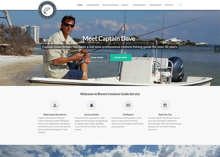 Brown's Inshore Guide Service Homepage