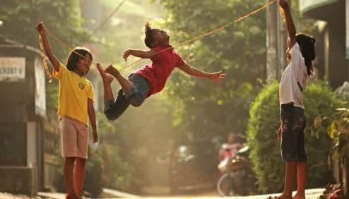 Image result for mainan lompat getah