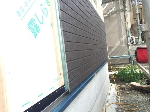 5.外壁サイディング工事始まりました1