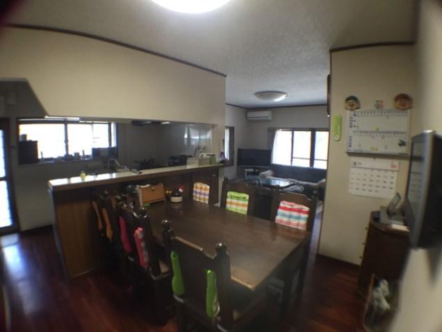 キッチン側から撮影