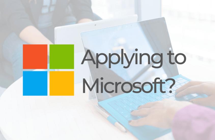 Applying to Microsoft? Make sure you do this.