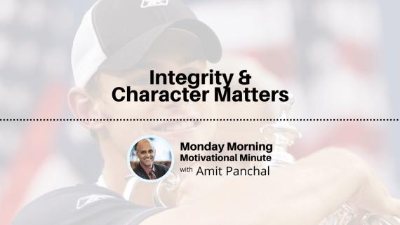 MMMM #17: Integrity & Character Matters