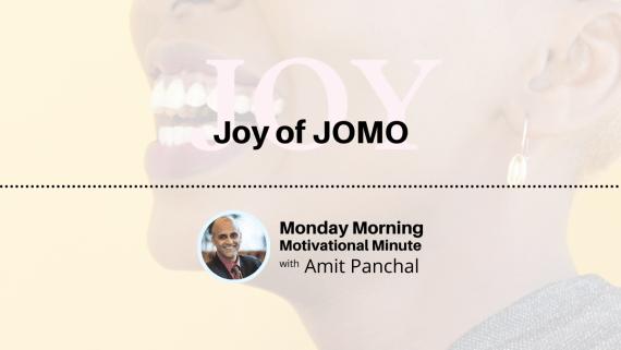 MMMM #21: Joy of JOMO