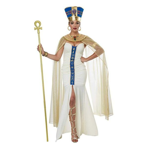 California Costumes Women's Queen of Egypt Adult Woman Costume, CreamBlue