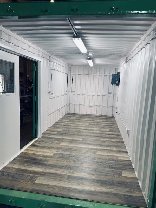 20' Specialized Container Used for Mobile Concession/Vending with Gas Shock Awnings