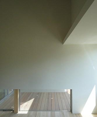 ゼオライト塗りの室内.1