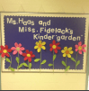 A classic welcome back to school bulletin board, complete with a play on words.