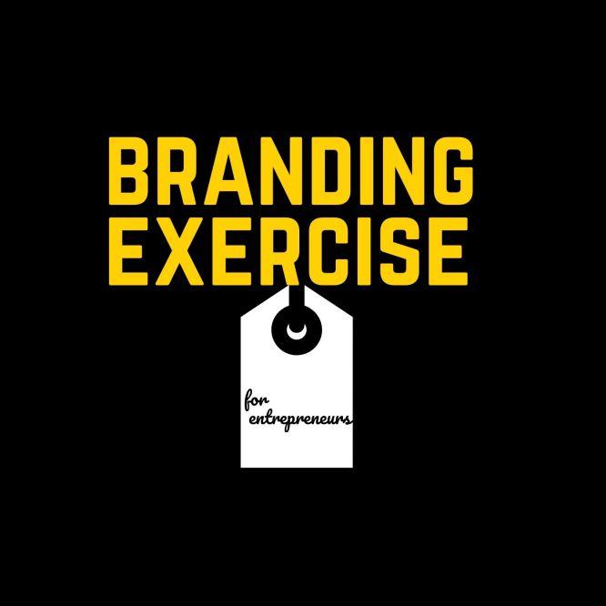 branding exercise for entrepreneurs